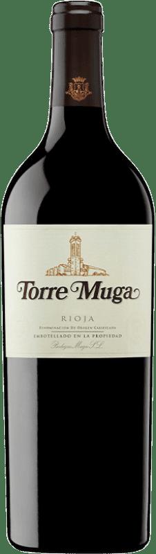 78,95 € Free Shipping | Red wine Muga Torre Crianza D.O.Ca. Rioja The Rioja Spain Tempranillo, Graciano, Mazuelo Bottle 75 cl