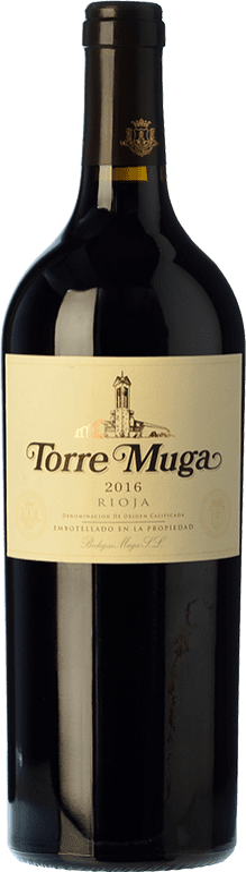 74,95 € Envoi gratuit | Vin rouge Muga Torre Crianza D.O.Ca. Rioja La Rioja Espagne Tempranillo, Graciano, Mazuelo Bouteille 75 cl