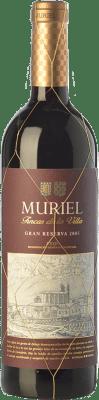 17,95 € Free Shipping | Red wine Muriel Fincas de la Villa Gran Reserva 2005 D.O.Ca. Rioja The Rioja Spain Tempranillo Bottle 75 cl