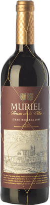 17,95 € Free Shipping | Red wine Muriel Fincas de la Villa Gran Reserva D.O.Ca. Rioja The Rioja Spain Tempranillo Bottle 75 cl