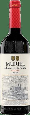 7,95 € Kostenloser Versand | Rotwein Muriel Fincas de la Villa Crianza D.O.Ca. Rioja La Rioja Spanien Tempranillo Flasche 75 cl