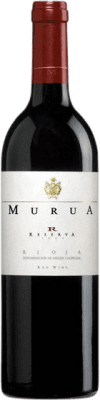 16,95 € Free Shipping | Red wine Murua Reserva D.O.Ca. Rioja The Rioja Spain Tempranillo, Graciano, Mazuelo Bottle 75 cl