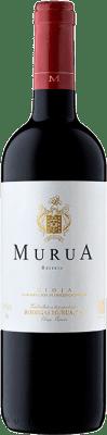 16,95 € Kostenloser Versand | Rotwein Murua Reserva D.O.Ca. Rioja La Rioja Spanien Tempranillo, Graciano, Mazuelo Flasche 75 cl