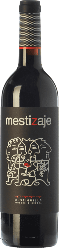 9,95 € Envoi gratuit   Vin rouge Mustiguillo Mestizaje Joven D.O.P. Vino de Pago El Terrerazo Communauté valencienne Espagne Tempranillo, Merlot, Grenache, Cabernet Sauvignon, Bobal Bouteille 75 cl