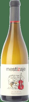 8,95 € Envío gratis | Vino blanco Mustiguillo Mestizaje D.O.P. Vino de Pago El Terrerazo Comunidad Valenciana España Malvasía, Viognier, Merseguera Botella 75 cl