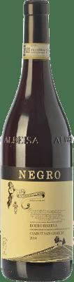 31,95 € Free Shipping | Red wine Negro Angelo Ciabot San Giorgio Riserva Reserva D.O.C.G. Roero Piemonte Italy Nebbiolo Bottle 75 cl