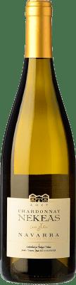 14,95 € Free Shipping | White wine Nekeas Cuvée Allier Crianza D.O. Navarra Navarre Spain Chardonnay Bottle 75 cl