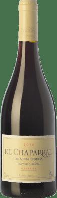 12,95 € Kostenloser Versand | Rotwein Nekeas El Chaparral de Vega Sindoa Joven D.O. Navarra Navarra Spanien Grenache Flasche 75 cl