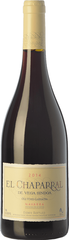 10,95 € Free Shipping | Red wine Nekeas El Chaparral de Vega Sindoa Joven D.O. Navarra Navarre Spain Grenache Bottle 75 cl