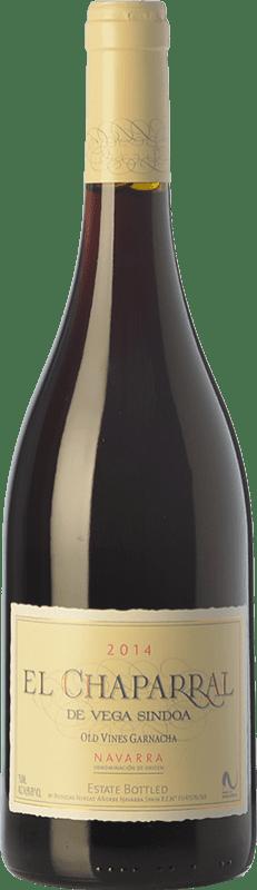 12,95 € Envío gratis | Vino tinto Nekeas El Chaparral de Vega Sindoa Joven D.O. Navarra Navarra España Garnacha Botella 75 cl
