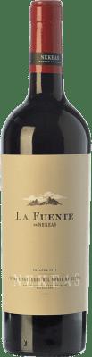 8,95 € Free Shipping | Red wine Nekeas La Fuente Crianza D.O. Navarra Navarre Spain Tempranillo, Merlot, Cabernet Sauvignon Bottle 75 cl
