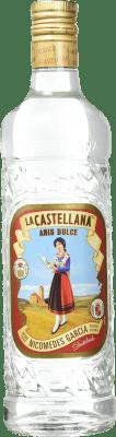 8,95 € Envío gratis | Anisado La Castellana Dulce España Botella 70 cl