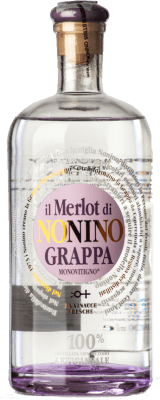 59,95 € Envoi gratuit | Grappa Nonino Il Merlot I.G.T. Grappa Friulana Frioul-Vénétie Julienne Italie Bouteille 70 cl