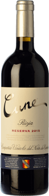 32,95 € Free Shipping | Red wine Norte de España - CVNE Cune Reserva D.O.Ca. Rioja The Rioja Spain Tempranillo, Grenache, Graciano, Mazuelo Magnum Bottle 1,5 L