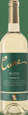 5,95 € 免费送货 | 白酒 Norte de España - CVNE Cune D.O. Rueda 卡斯蒂利亚莱昂 西班牙 Verdejo 瓶子 75 cl | 成千上万的葡萄酒爱好者信赖我们,保证最优惠的价格,免费送货,购买和退货,没有复杂性.