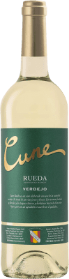 5,95 € Free Shipping | White wine Norte de España - CVNE Cune D.O. Rueda Castilla y León Spain Verdejo Bottle 75 cl | Thousands of wine lovers trust us to get the best price guarantee, free shipping always and hassle-free shopping and returns.