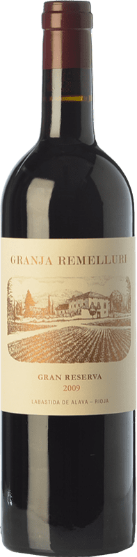51,95 € Free Shipping | Red wine Ntra. Sra de Remelluri Granja Gran Reserva 2009 D.O.Ca. Rioja The Rioja Spain Tempranillo, Grenache, Graciano Bottle 75 cl