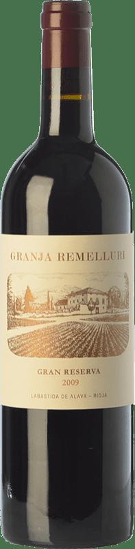 51,95 € Envoi gratuit   Vin rouge Ntra. Sra de Remelluri Granja Gran Reserva 2009 D.O.Ca. Rioja La Rioja Espagne Tempranillo, Grenache, Graciano Bouteille 75 cl