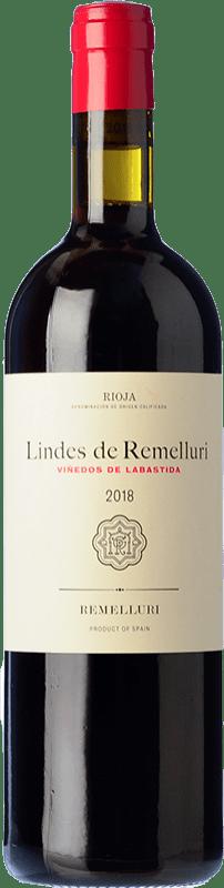 11,95 € Free Shipping | Red wine Ntra. Sra de Remelluri Lindes Viñedos de Labastida Joven D.O.Ca. Rioja The Rioja Spain Tempranillo, Grenache, Graciano Bottle 75 cl