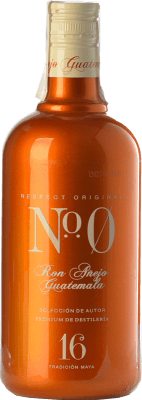 24,95 € Free Shipping | Rum Number Zero Nº 0 Añejo Guatemala Spain Bottle 70 cl