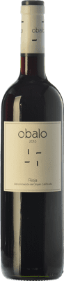 7,95 € Free Shipping | Red wine Obalo Joven D.O.Ca. Rioja The Rioja Spain Tempranillo Bottle 75 cl