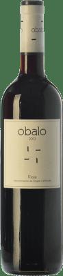 6,95 € Envío gratis | Vino tinto Obalo Joven D.O.Ca. Rioja La Rioja España Tempranillo Botella 75 cl
