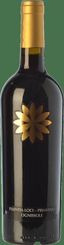 21,95 € Envío gratis | Vino tinto Ognissole Essentia Loci D.O.C. Primitivo di Manduria Puglia Italia Primitivo Botella 75 cl