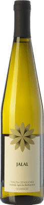 13,95 € Free Shipping | White wine Ognissole Jalal I.G.T. Puglia Puglia Italy Muscatel White Bottle 75 cl