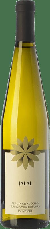 13,95 € Envío gratis | Vino blanco Ognissole Jalal I.G.T. Puglia Puglia Italia Moscatel Blanco Botella 75 cl