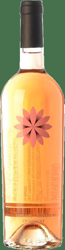 8,95 € Free Shipping | Rosé wine Ognissole Mirante I.G.T. Salento Campania Italy Primitivo Bottle 75 cl