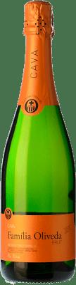 6,95 € Kostenloser Versand | Weißer Sekt Oliveda Jove Brut Joven D.O. Cava Katalonien Spanien Macabeo, Xarel·lo, Parellada Flasche 75 cl