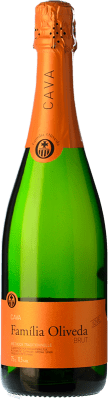 4,95 € Free Shipping | White sparkling Oliveda Jove Brut Joven D.O. Cava Catalonia Spain Macabeo, Xarel·lo, Parellada Bottle 75 cl