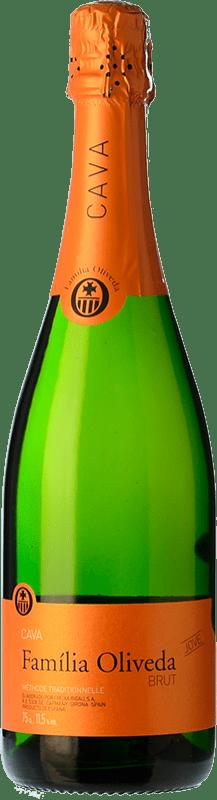 6,95 € Free Shipping | White sparkling Oliveda Jove Brut Joven D.O. Cava Catalonia Spain Macabeo, Xarel·lo, Parellada Bottle 75 cl
