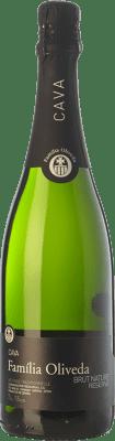 6,95 € Envoi gratuit | Blanc moussant Oliveda Brut Nature Reserva D.O. Cava Catalogne Espagne Macabeo, Xarel·lo Bouteille 75 cl | Des milliers d'amateurs de vin nous font confiance avec la garantie du meilleur prix, une livraison toujours gratuite et des achats et retours sans complications.