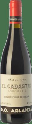 36,95 € Free Shipping | Red wine Olivier Rivière El Cadastro Crianza D.O. Arlanza Castilla y León Spain Tempranillo, Grenache Bottle 75 cl