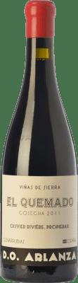 55,95 € Envío gratis | Vino tinto Olivier Rivière El Quemado Crianza D.O. Arlanza Castilla y León España Tempranillo, Garnacha Botella 75 cl
