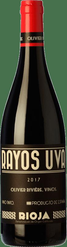 11,95 € Free Shipping | Red wine Olivier Rivière Rayos Uva Joven D.O.Ca. Rioja The Rioja Spain Tempranillo, Grenache, Graciano Bottle 75 cl