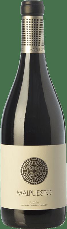 29,95 € Envío gratis | Vino tinto Orben Malpuesto Crianza D.O.Ca. Rioja La Rioja España Tempranillo Botella 75 cl