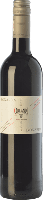 7,95 € Free Shipping | Red wine Orlandi Bonarda D.O.C. Oltrepò Pavese Lombardia Italy Croatina Bottle 75 cl