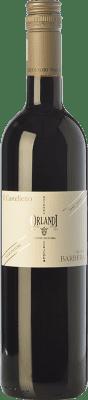 6,95 € Free Shipping | Red wine Orlandi Castelletto I.G.T. Provincia di Pavia Lombardia Italy Barbera Bottle 75 cl