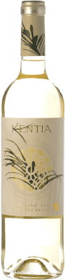 7,95 € Envoi gratuit | Vin blanc Orowines Kentia D.O. Rías Baixas Galice Espagne Albariño Bouteille 75 cl