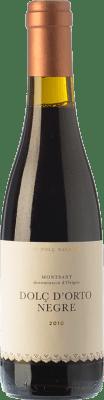 19,95 € Free Shipping | Sweet wine Orto Dolç Negre D.O. Montsant Catalonia Spain Grenache, Grenache Hairy Half Bottle 37 cl