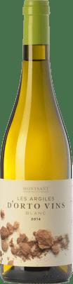 9,95 € Free Shipping | White wine Orto Les Argiles Blanc D.O. Montsant Catalonia Spain Grenache White, Macabeo Bottle 75 cl