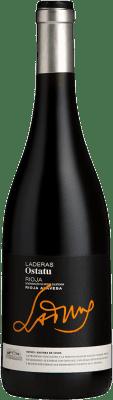 28,95 € Envío gratis | Vino tinto Ostatu Laderas del Portillo Joven D.O.Ca. Rioja La Rioja España Tempranillo, Viura Botella 75 cl