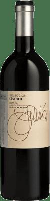 21,95 € Envoi gratuit | Vin rouge Ostatu Selección Crianza D.O.Ca. Rioja La Rioja Espagne Tempranillo, Graciano Bouteille 75 cl