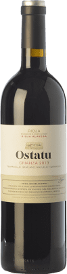 9,95 € Kostenloser Versand   Rotwein Ostatu Crianza D.O.Ca. Rioja La Rioja Spanien Tempranillo Flasche 75 cl