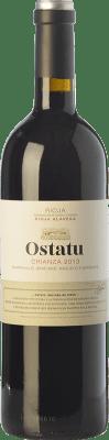 9,95 € Envío gratis | Vino tinto Ostatu Crianza D.O.Ca. Rioja La Rioja España Tempranillo Botella 75 cl
