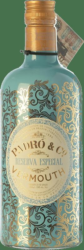 14,95 € Envío gratis | Vermut Padró Especial Reserva Cataluña España Botella 70 cl