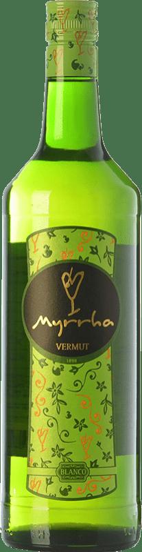6,95 € Envoi gratuit | Vermouth Padró Myrrha Blanco Catalogne Espagne Bouteille Missile 1 L