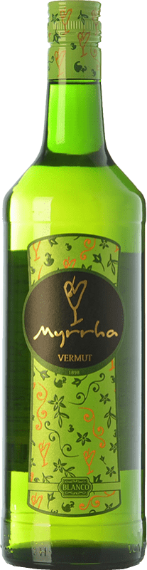 6,95 € Free Shipping | Vermouth Padró Myrrha Blanco Catalonia Spain Missile Bottle 1 L